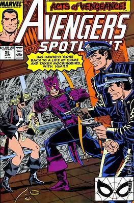 Solo Avengers / Avengers Spotlight (Comic book) #28