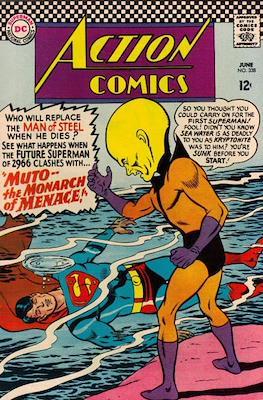 Action Comics Vol. 1 (1938-2011; 2016-) (Comic Book) #338