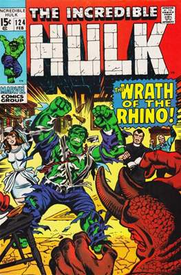 The Incredible Hulk Vol.1 (Saddle-stitched. 1962-1999) #124