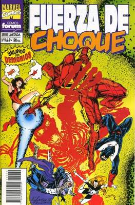 Fuerza de Choque vol. 1 (1995) (Grapa. 17x26. 24 páginas. Color. 1995.) #9