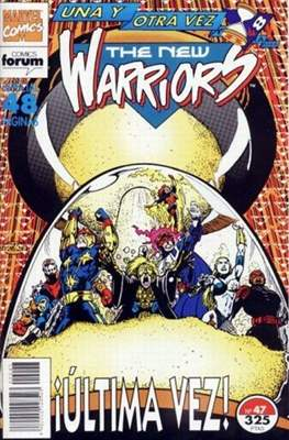 The New Warriors vol. 1 (1991-1995) (Grapa. 17x26. 24 páginas. Color. (1991-1995).) #47