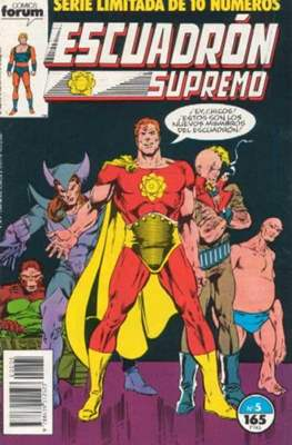 Escuadrón Supremo (1990) (Grapa. 17x26. 32 páginas. Color) #5
