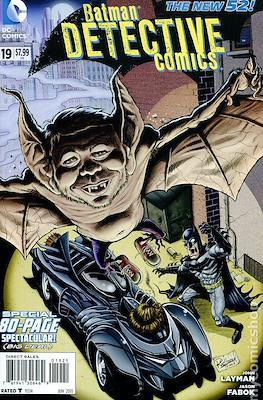Batman Detective Comics Vol. 2 (2011-2016 Variant Cover) #19