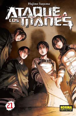 Ataque a los Titanes (Rústica con sobrecubierta) #21