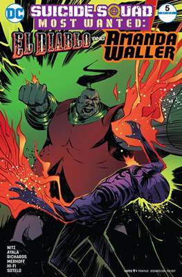 Suicide Squad Most Wanted: El Diablo and Boomerang/Killer Croc/Amanda Waller (Comic Book) #5