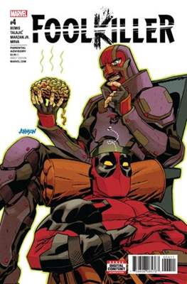 Foolkiller Vol. 3 (2017-2017) (Comic Book) #4