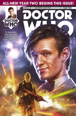 Doctor Who: The Eleventh Doctor Year Two (Comic Book) #1