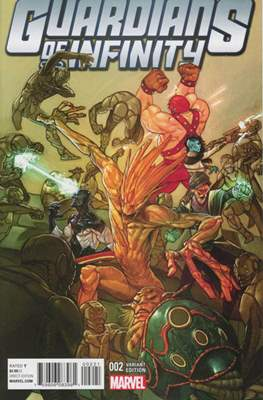 Guardians of Infinity (Variant Cover) (Comic Book) #2