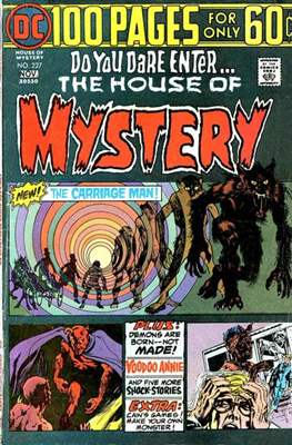 The House of Mystery (Grapa) #227