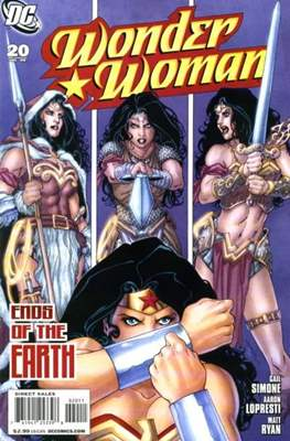 Wonder Woman Vol. 3 (2006-2011) (Comic Book) #20