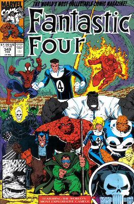 Fantastic Four Vol. 1 (1961-1996) (saddle-stitched) #349