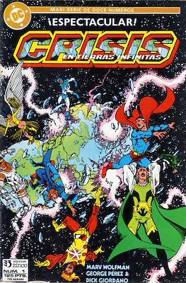 Crisis en Tierras Infinitas (1987) (Grapa. 32 páginas. Color.) #1