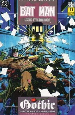 Leyendas de Batman. Legends of the Dark Knight (Grapa) #10