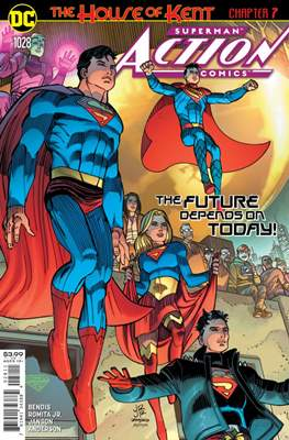 Action Comics Vol. 1 (1938-2011; 2016-) (Comic Book) #1028