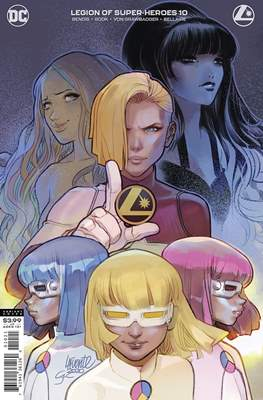Legion Of Super-Heroes Vol. 8 (2019- Variant Cover) #10