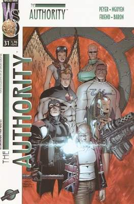 The Authority Vol. 1 (2000-2003) (Grapa 28 pp) #31