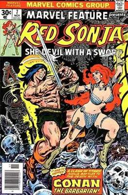 Marvel Feature presents Red Sonja (Comic Book) #7