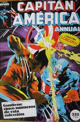 Capitán América Vol. 1 (1985-1992) #0.4