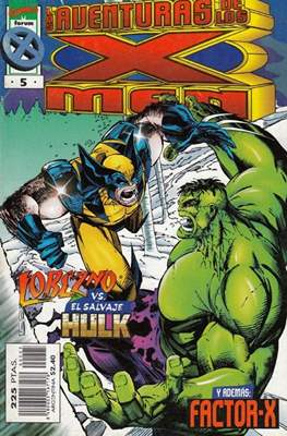 Las nuevas aventuras de los X-Men Vol. 2 #5