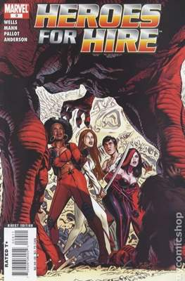 Heroes for Hire Vol. 2 (2006-2007) #9