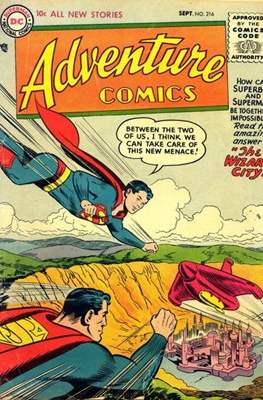 New Comics / New Adventure Comics / Adventure Comics (1935-1983 ; 2009-2011) (Comic Book) #216