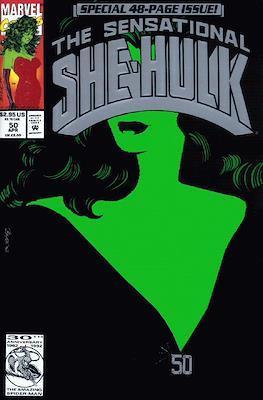 Sensational She-Hulk (1989-1994) (Grapa) #50