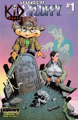 Legends of Kid Death & Fluffy (Variant Cover)