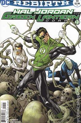 Hal Jordan and the Green Lantern Corps (Vol. 1 2016-... Variant Covers) (Grapa) #15.1