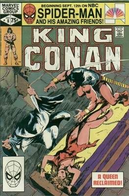 King Conan/Conan the King (1980-1989) (Grapa, 48 págs.) #8