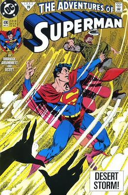 Superman Vol. 1 / Adventures of Superman Vol. 1 (1939-2011) (Comic Book) #490