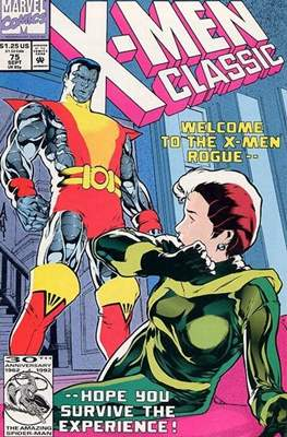 Classic X-Men / X-Men Classic (Comic Book) #75