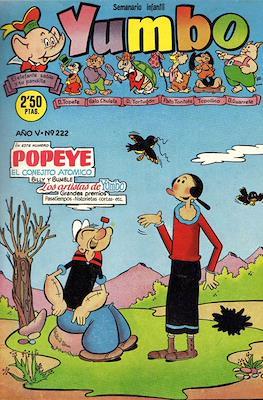 Yumbo. Semanario infantil (Grapa 20 pp) #222