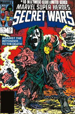 Marvel Super Heroes Secret Wars (Comic Book) #10