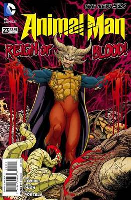 Animal Man vol. 2 (2011-2014) (Comic-book) #23