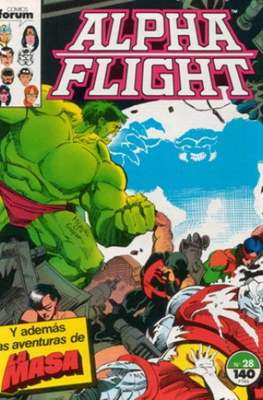 Alpha Flight Vol. 1 / Marvel Two-in-one: Alpha Flight & La Masa Vol.1 (1985-1992) (Grapa 32-64 pp) #28