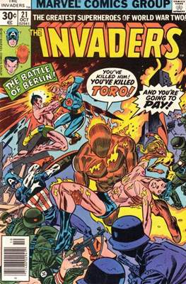 The Invaders (Comic Book. 1975 - 1979) #21