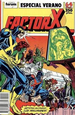 Factor-X Vol. 1 Especiales (1988-1995) (Grapa 64 pp) #3