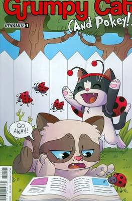 Grumpy Cat (And Pokey!) (2016 Variant Cover)