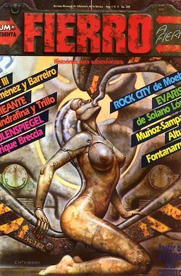 Fierro (Grapa (1984-1992) Primera época) #4