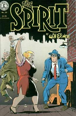 The Spirit (1983-1992) (Comic book. 32 pp) #20