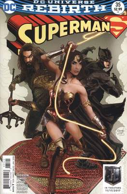 Superman Vol. 4 (2016-... Variant Covers) (Grapa) #35