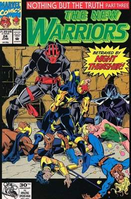 The New Warriors (Comic-Book) #24