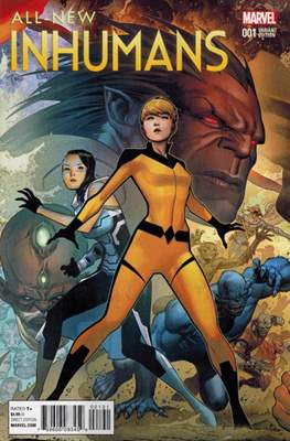 All-New Inhumans (Variant Cover) #1.3