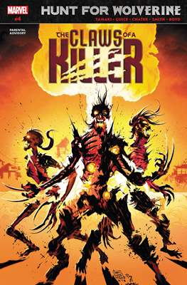Hunt For Wolverine: The Claws of a Killer (Comic Book) #4