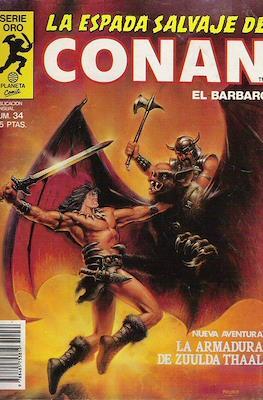 La Espada Salvaje de Conan. Vol 1 (1982-1996) (Grapa. B/N.) #34