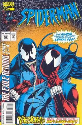 Spider-Man (Vol. 1 1990-2000) (Comic Book) #52