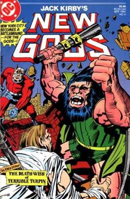 New Gods Vol. 2 (Grapa.) #4