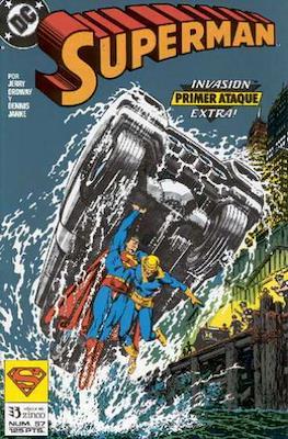 Superman: El Hombre de Acero / Superman Vol. 2 (Grapa 36 pp) #57