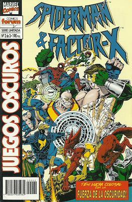Spiderman y Factor-X: Juegos oscuros (1995) (Grapa) #2