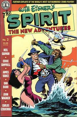 The Spirit. The New Adventures (Comic book. grapa.) #2